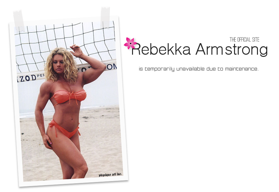 Rebekka Armstrong - The Official Site